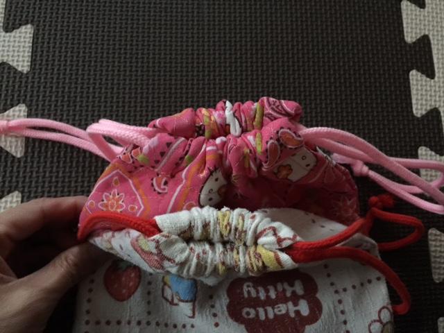 手作り巾着