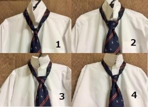 ビジネスマンにおすすめのネクタイの結び方の結び目
