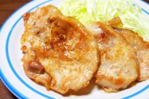 豚の酢生姜焼き