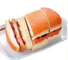 コメダ珈琲みそカツパン