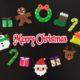 アイロンビーズで作るクリスマスオーナメントとツリーの飾りつけアイデア