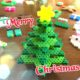 アイロンビーズのクリスマスツリー立体型の作り方と組み立て方とアレンジ法